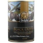 olive Delfi black with bone 425ml can Greece