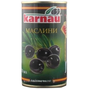 Маслини Kаrnau з/к 350г