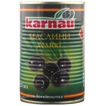 Маслини Kаrnau без кісточки 425мл