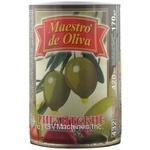 Оливки Maestro de Oliva фаршировані Гігантські Перець