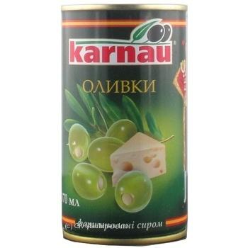 Оливки Kаrnau фаршировані Сир 350мл