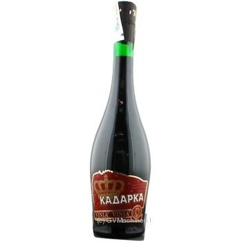 Вино Котнар Кадарка красное полусладкое 12% 700мл стеклянная бутылка Украина