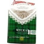 Вино мускат Домашнее вино белое полусладкое 12% 2000мл тетрапакет Украина