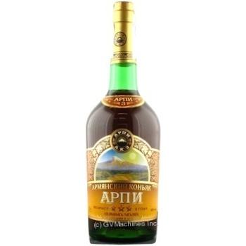 Коньяк Арпи 40% 3года 700мл Армения