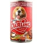 Консерва для собак Darling М'ясо,овочі 1,2кг