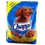 Food Chappi with poultry meat dry for dogs 3000g Hungary