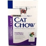Food Cat chow dry for pets 400g Russia