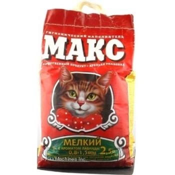 Наповнювач Макс дрібний лаванда 2,5кг х6 - купити, ціни на МегаМаркет - фото 4