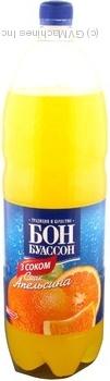 Напиток Бон Буассон Апельсин безалкогольный сокосодержащий сильногазированный пластиковая бутылка 2000мл Украина