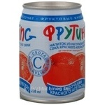 Non-alcoholic non-carbonated juice-containing drink with red orange juice Fruiting can 238ml Russia