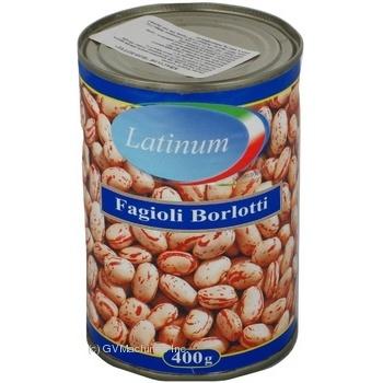 Фасоль Latinum Fagioli Borlotti 400г - купить, цены на Novus - фото 4