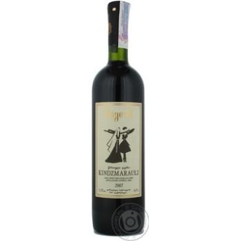 Вино Bugeuli Киндзмараули красное полусладкое 11,5% 0,75л