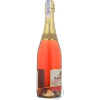 Вино игристое Bagrationi розовое полусладкое 12% 0,75л - купить, цены на МегаМаркет - фото 3