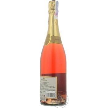 Вино игристое Bagrationi розовое полусладкое 12% 0,75л - купить, цены на МегаМаркет - фото 4