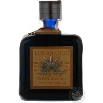 Текила Corralejo Los Arango Reposado 40% 0,75л - купить, цены на УльтраМаркет - фото 1