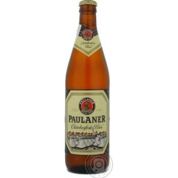 Пиво Пауланер Октоберфест светлое пастеризованное 6%об. 500мл