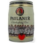 Beer Paulaner Oktoberfest light 6% 5000ml can Germany