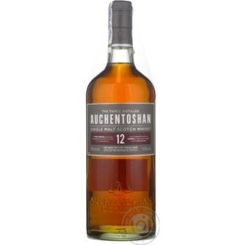 Виски Auchentoshan 12 лет 40% 0,7л - купить, цены на СитиМаркет - фото 1