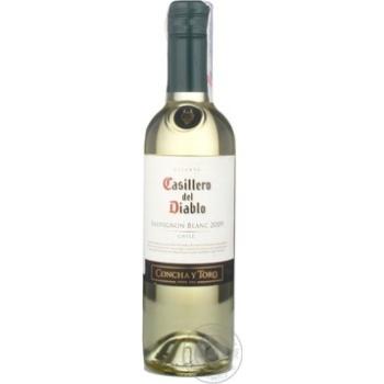 Вино каберне-совиньон Касильеро дель диабло белое сухие 13% 2009год 375мл Чили