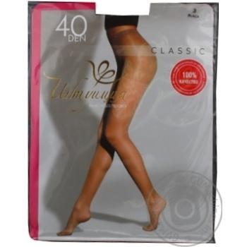 Колготи жіночі Intuicia Classic 40Den чорні розмір 3 - купити, ціни на МегаМаркет - фото 2