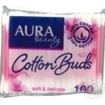 Cotton sticks Aura 100pcs