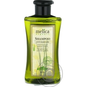 Шампунь Melica organic проти випадіння волосся 300мл