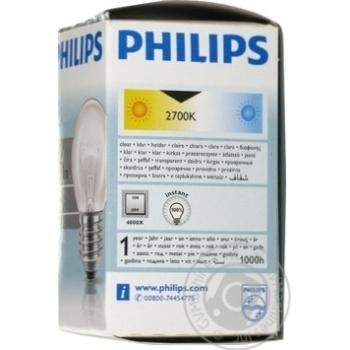 Bulb Philips e27 60w 1000hours 230v - buy, prices for Novus - image 2