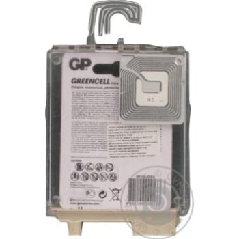 Батарейки GP Greencell 1.5V AA 4шт - купить, цены на Метро - фото 3