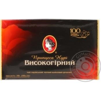 Чай черный Принцесса Нури Высокогорный 100шт 1.8г