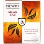 Чай черный Newby Masala Chai 100г