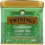Чай Twinings зеленый байховый ганпаудер 100г
