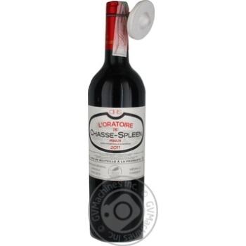 Вино L'oratoire de Chasse-Spleen Moulis-en-Medoc красное сухое 13% 0,75л