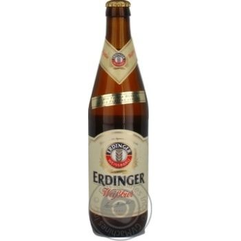 Пиво Erdinger пшеничное светлое 0,5л - купить, цены на Novus - фото 4