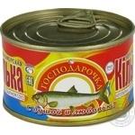 Fish sprat Hospodarochka in tomato sauce 240g can