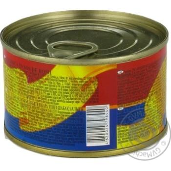 Килька Господарочка черноморская неразделанная в томатном соусе 240г - купить, цены на Фуршет - фото 4