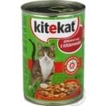 Консерва Kitekat говядина для котов 400г