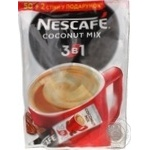 Nescafe 3in1 Coconut mix Instant Coffee Drink 52*16g