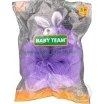 Дитяча мочалка-звірятко Baby Team арт 7406