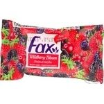 Soap Fax with berries bar 75g