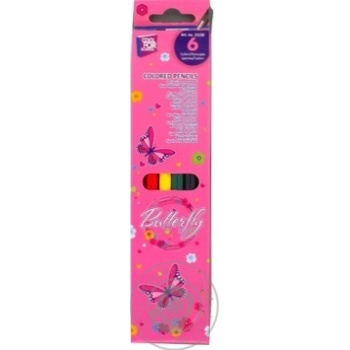 Cool for school Pencils 6 colors - buy, prices for MegaMarket - image 1