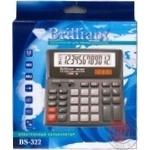 Калькулятор Briliant BS-322 12 розрядів