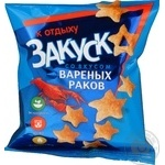 Snack Avk with cancers 350g Ukraine