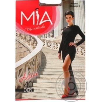 Колготки Mia Active женские бежевые 40ден 2р