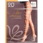Tights Intuitsia black polyamide for women 20den 3size