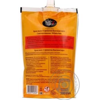 Крем-мыло жидкое Dolce Vero Манговый мусс 500мл - купить, цены на Novus - фото 2