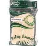 Губка Balmy Naturel из хлопка - купить, цены на Novus - фото 3