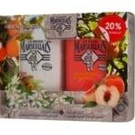 Набір подарунковий Гель для душу Le Petit Marseillais  Le Petit Marseillais Білий персик та Нектарин 250 мл + Гель для душу  Le Petit Marseillais Квітка апельсинового дере