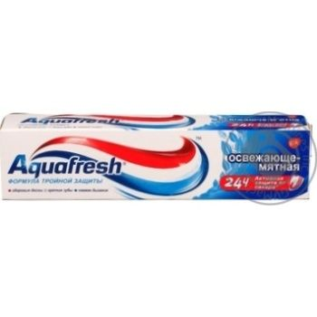 Toothpaste Aquafresh 50ml packaged - buy, prices for Novus - image 3