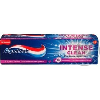 Зубная паста Aquafresh Intense Сlean Глубокое действие 75мл