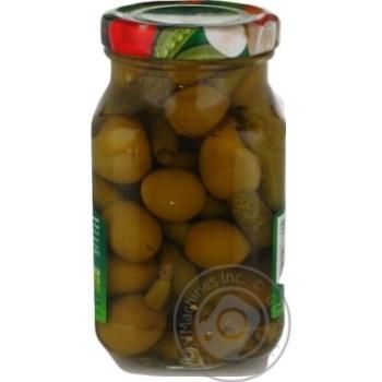 Оливки з огірочком Rio 280г - купити, ціни на CітіМаркет - фото 3